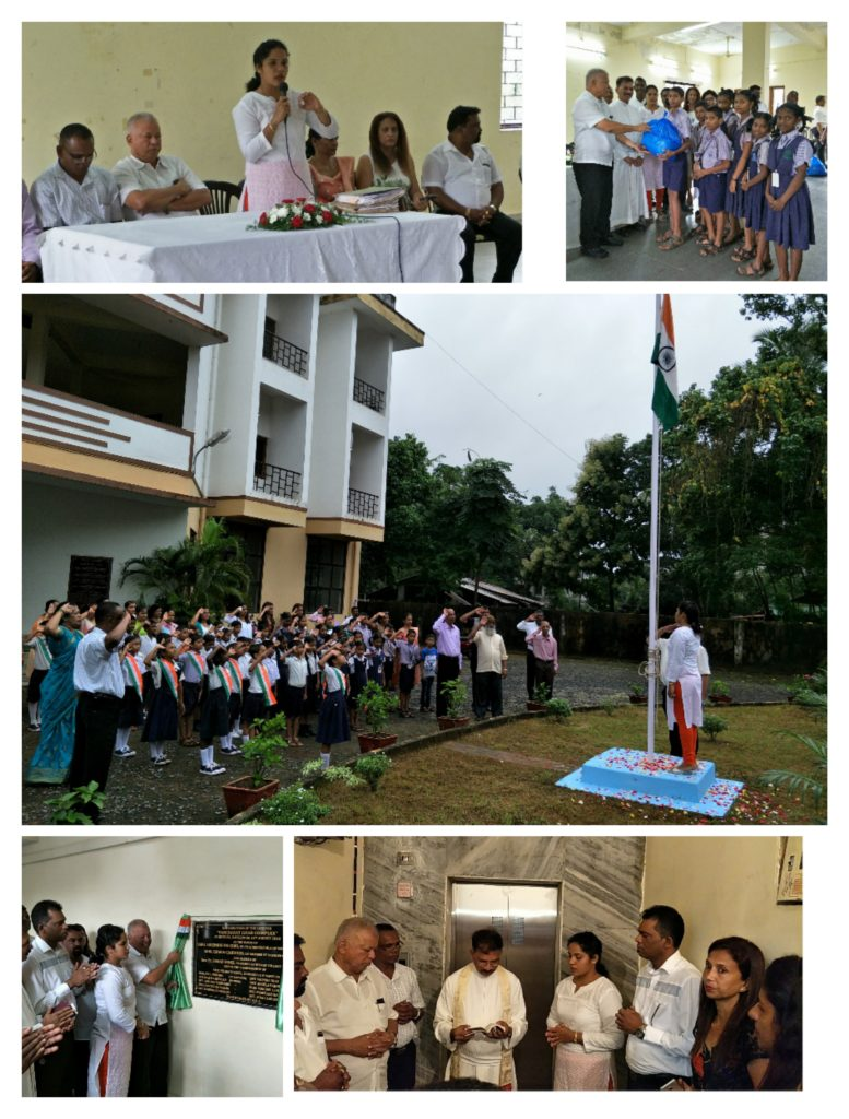Celebration of Independence Day & Inauguration of Lift for the Panchayat Ghar - 15th August 2018